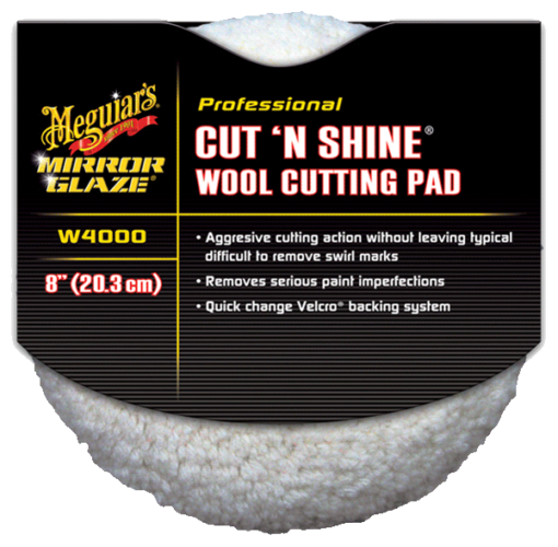 W4000 - Cut N Shine Wool Pad